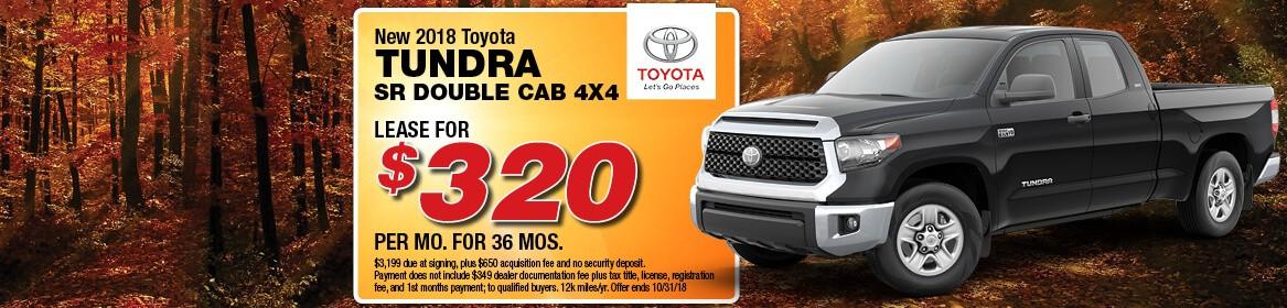2018 Toyota Tundra SR Double Cab 4x4