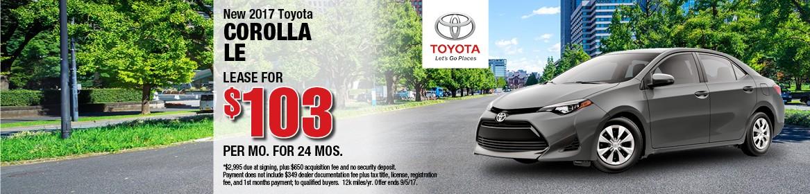 2017 Toyota Carolla