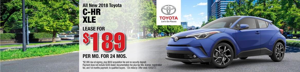 2017 Toyota C-HR CLE