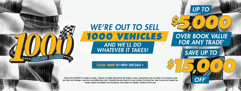 1000 Sales Race