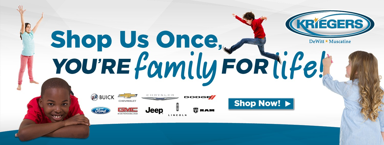 Shop Us Once, You're Family For Life!