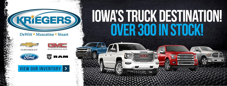 Kriegers - Iowa's Truck Destination!