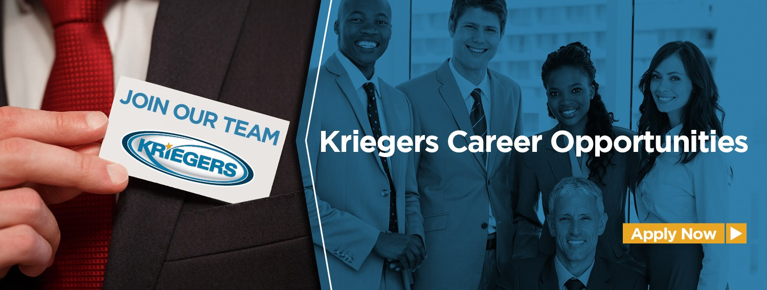 Kriegers Career Opportunities