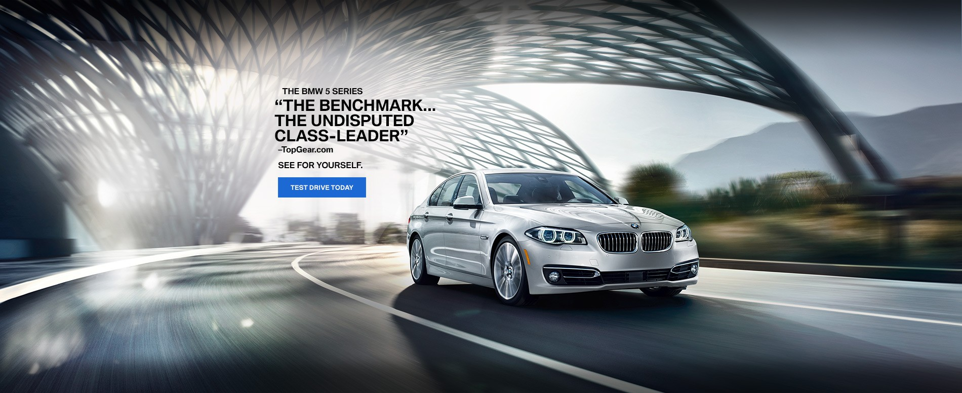 BMW 5 Series The benchmark... The undisputed class-leader