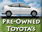 Pre-Owned Toyota's