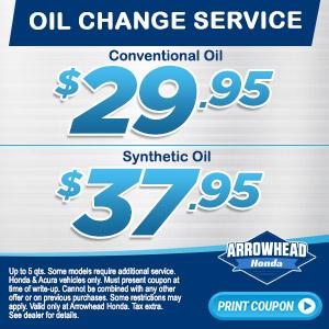 Oil Change Specials >> Coupon List