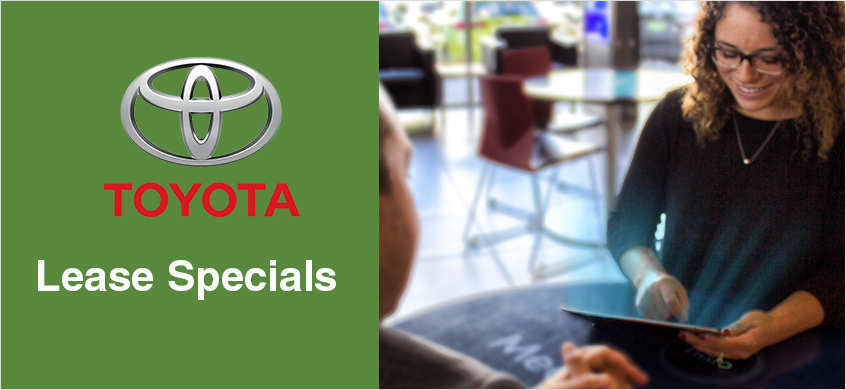 Lease Specials at Beaverton Toyota