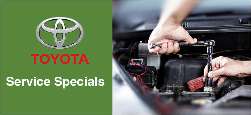 Service Specials at Beaverton Toyota