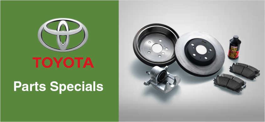 Parts Specials at Beaverton Toyota