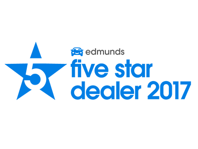 5 Stars on Edmunds 2017