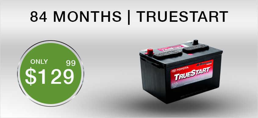TrueStart 84 Months Battery cheap price at Beaverton Toyota