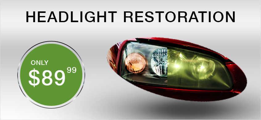 Headlight Restoration service at Beaverton Toyota