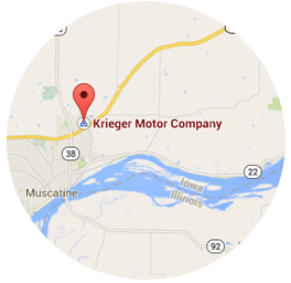 Kriegers Motor Company Location Map