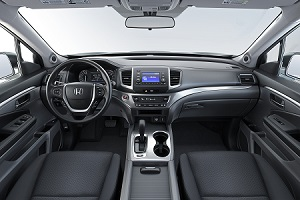 2019 Honda Ridgeline Interior Safety