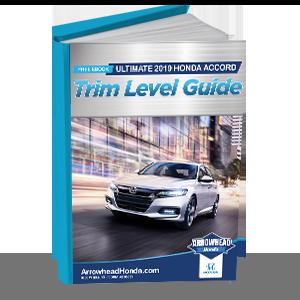 2019 Honda Accord Trim Level Guide | Peoria, AZ
