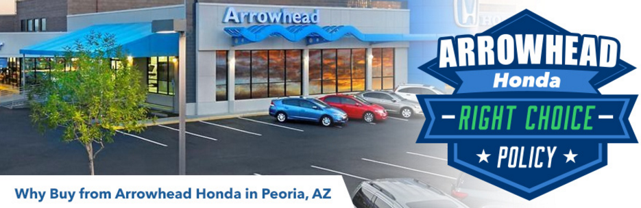 Why Buy a Honda in Peoria, AZ