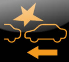 Collision Brake System Light
