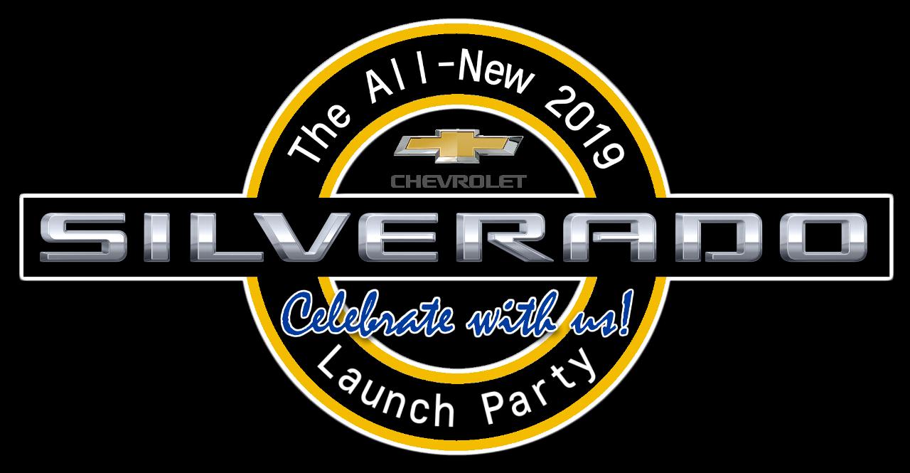 2019 Silverado 1500 Launch Event Logo