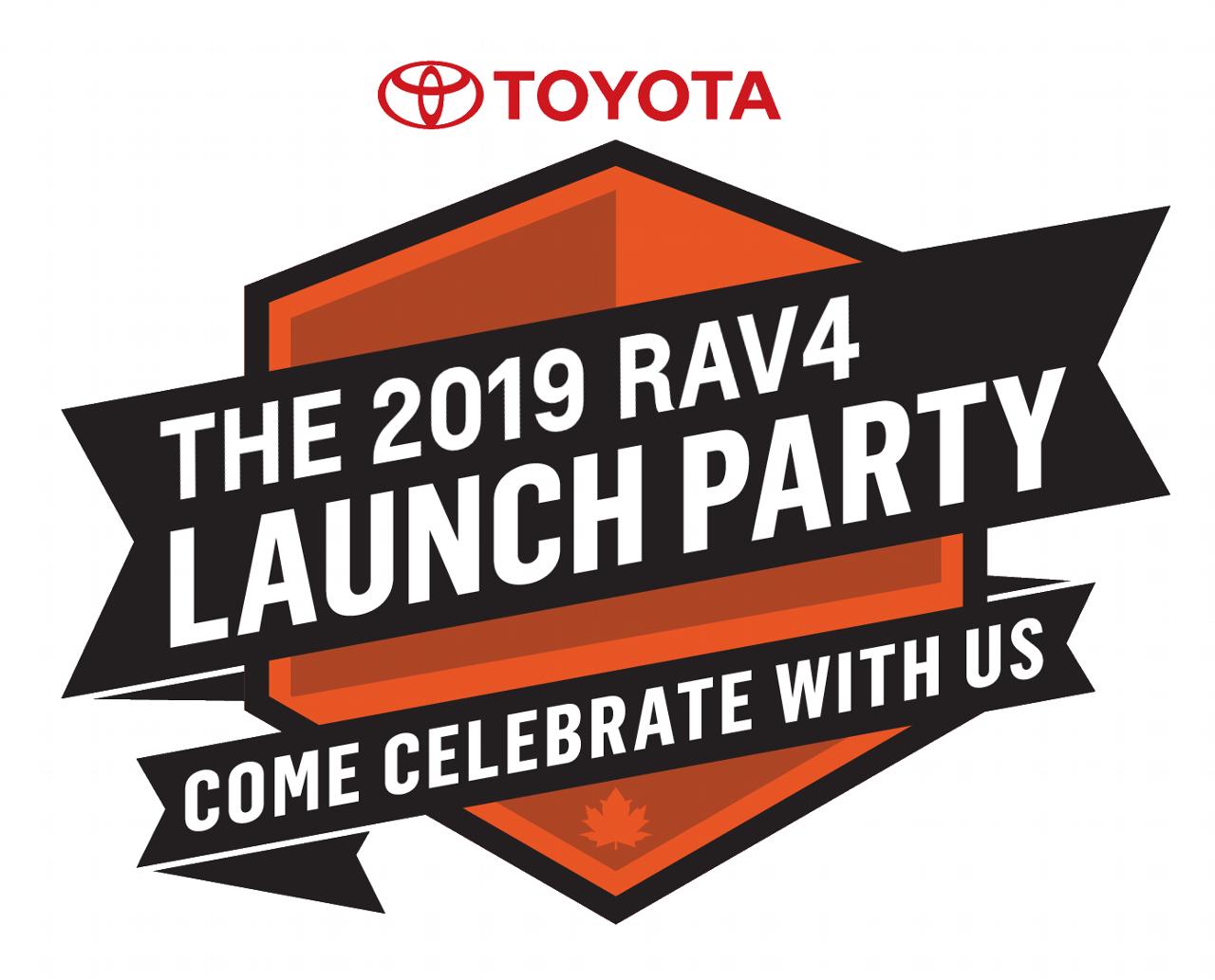 2019 RAV4 launch Event Logo