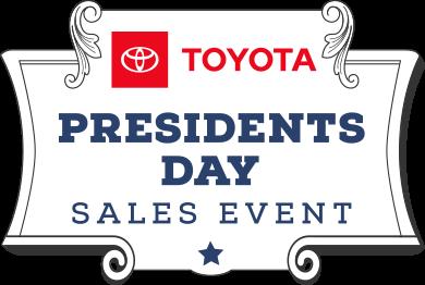 Toyota Presidents Day Event Logo