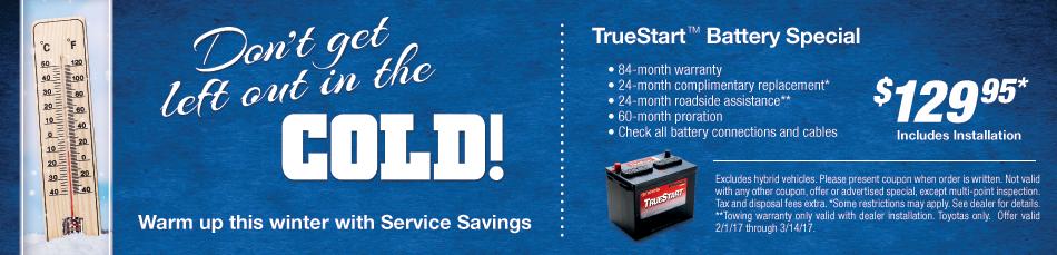 TrueStart Battery Special