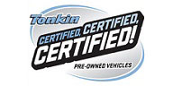 Tonkin Certified Pre-Owned Vehicles