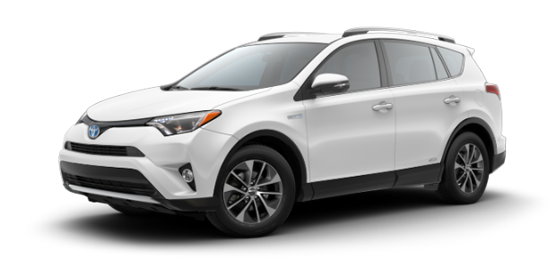 New 2018 RAV4 Hybrid XLE AWD