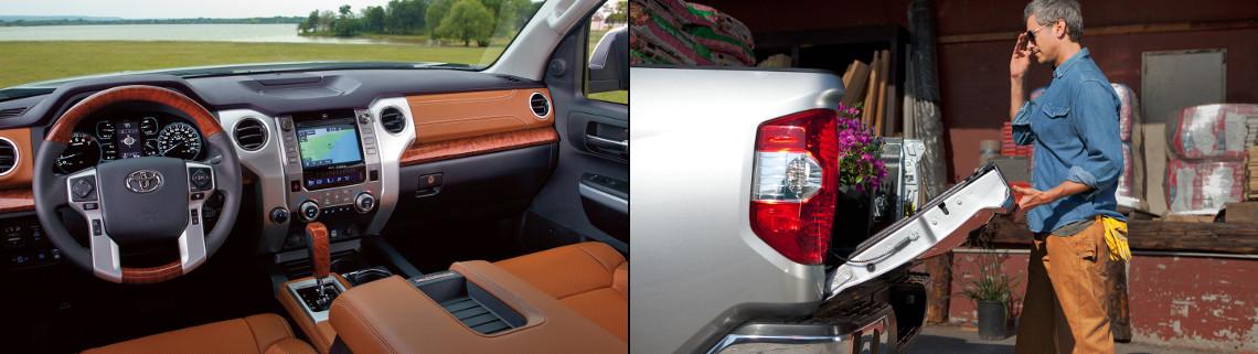 Toyota Tundra interior & exterior design