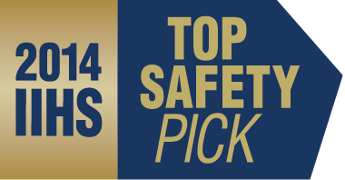 IIHS Top Safety Pick Badge 2014