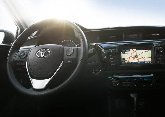 2016 Toyota Corolla Interior Console