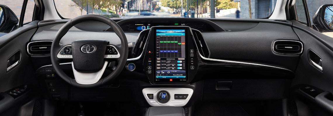 2017 Toyota Prius Prime Interior Console