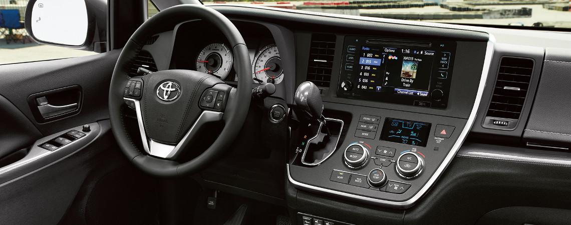 2017 Toyota Sienna Interior Console