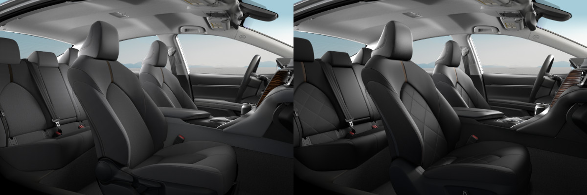 2018 Toyota Camry Le Vs Xle Interior