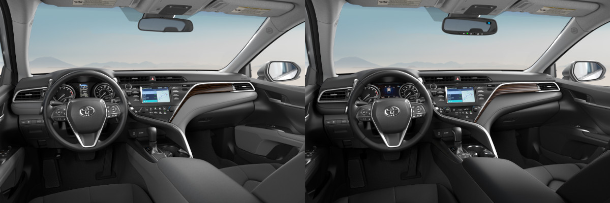 2018 Toyota Camry Le Vs Xle Technology