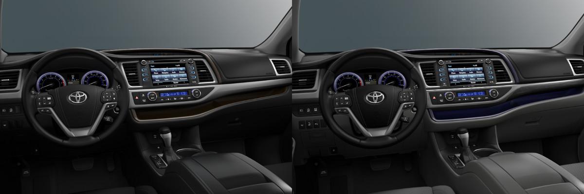 2018 Toyota Highlander Xle Vs Limited Platinum Technology