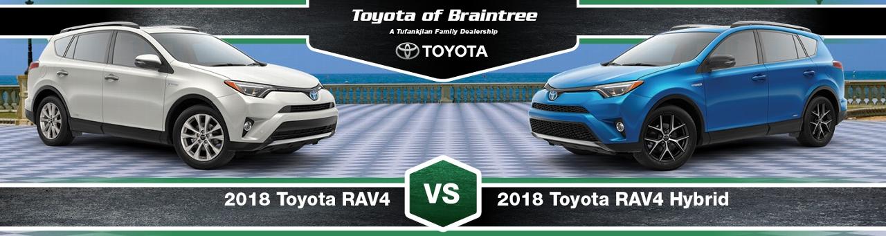 2018 Toyota Rav4 Vs Hybrid Comparison