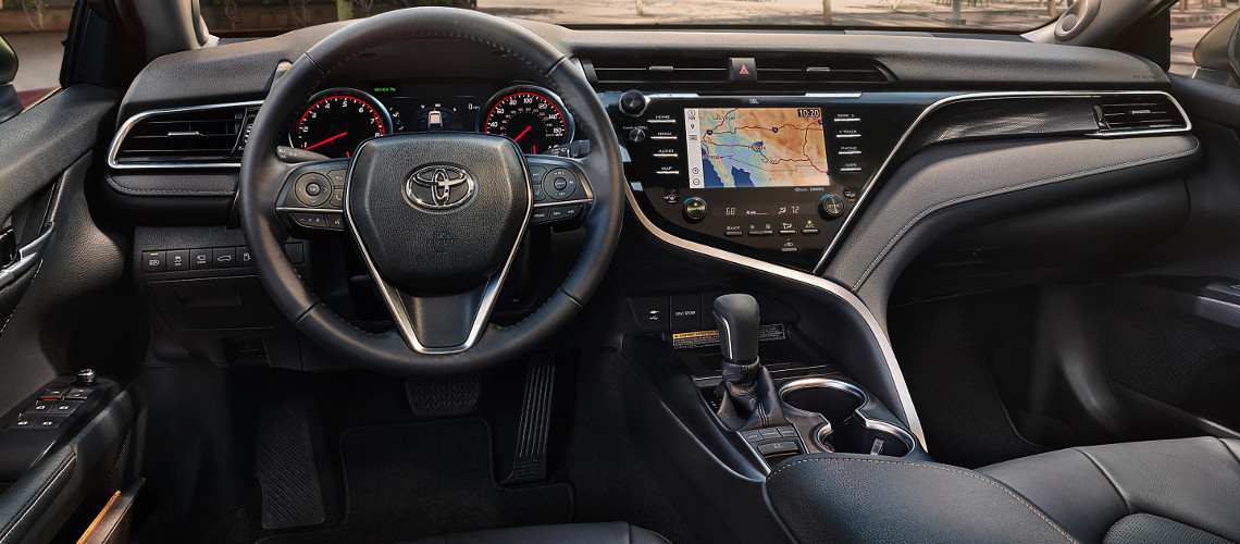 Toyota Camry 2018 Interior >> 2018 Toyota Camry Interior Design Capacity Features