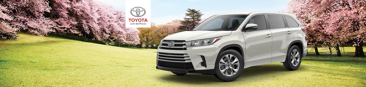 2018 Toyota Highlander Lease Deal near Boston, MA