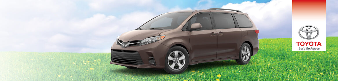 2018 Toyota Sienna Lease Deal near Boston, MA