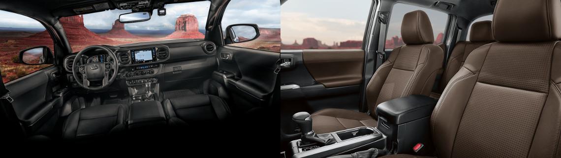 2018 Toyota Tacoma Interior Dashboard and Seats