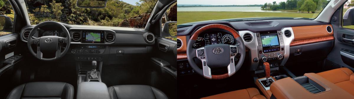 Tacoma Vs Tundra >> 2019 Toyota Tacoma Vs Tundra Similarities Differences Specs
