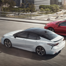2019 Toyota Camry in city