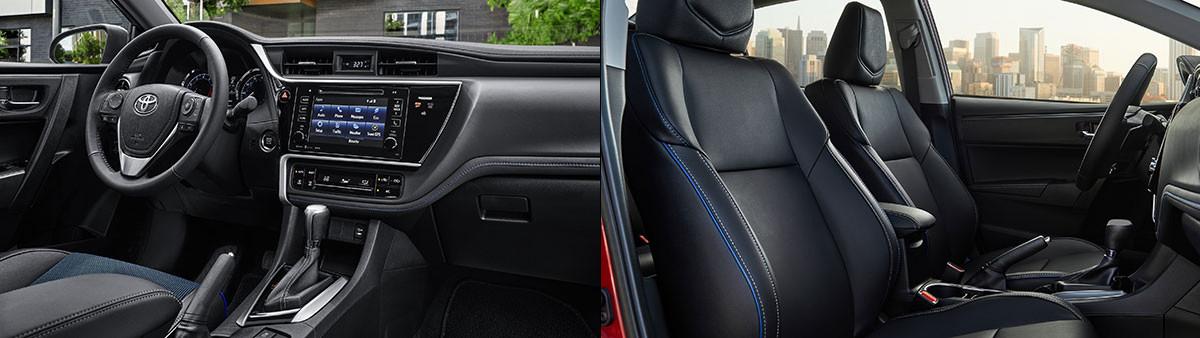 2019 Toyota Corolla interior