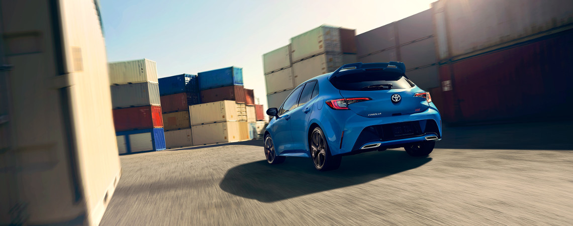 2019 Toyota Corolla Hatchback rear view