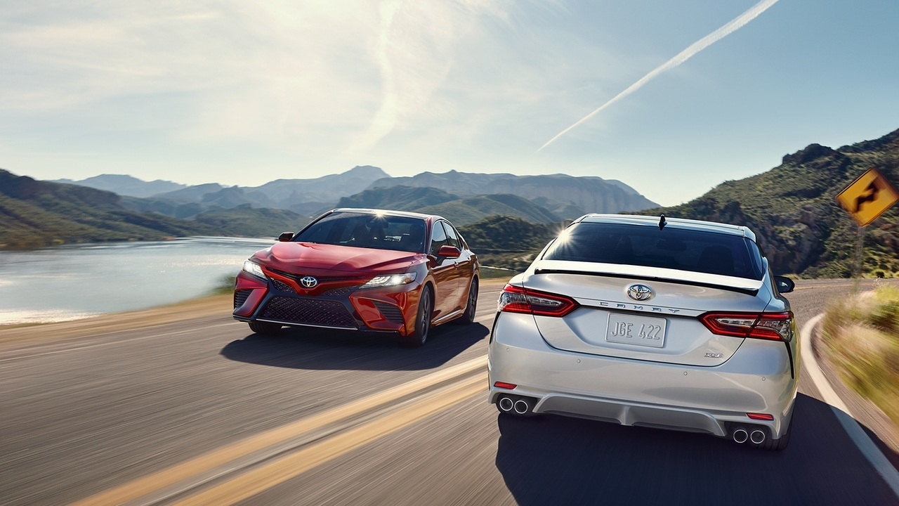 camry vs. competition