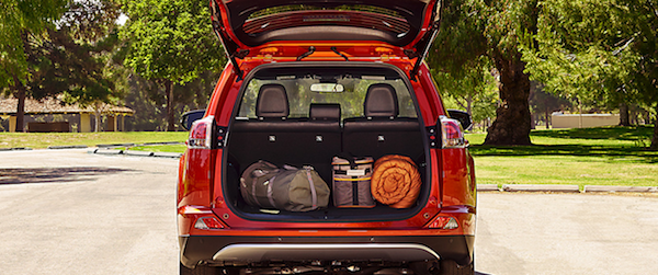 Toyota RAV4 Trunk Space