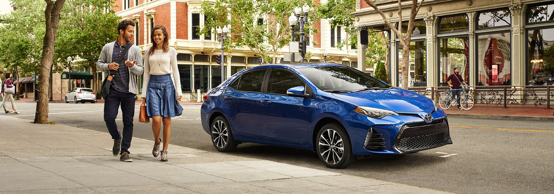 Test Drive a 2018 Toyota Corolla Today!