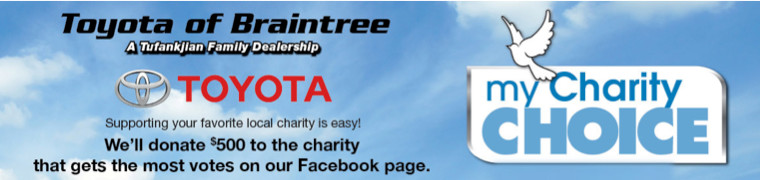 Toyota of Braintree My Charity Choice Program