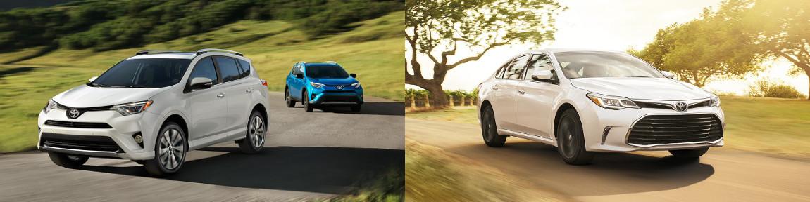 Toyota SUVs vs. Toyota Sedans