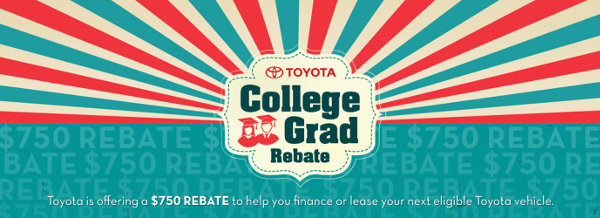 Toyota College Graduate Program Banner